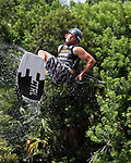 September 13, 2014:  Scenes from the WWA Wakeboard World Championships at Mills Pond Park in Fort Lauderdale, FL.  Men's  Professional Wakeboarder Tony Carroll USA. Liz Lamont/ESW/CSM