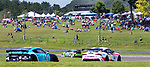 SALISBURY, CT. - 17 July 2021-071721SV04-Hundreds of fans line the race course for the IMSA Northeast Grand Prix event at Lime Rock Park in Lakeville Saturday.  <br /> Steven Valenti Republican-American