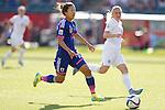 Yuki Ogimi (JPN), JULY 1, 2015 - Football / Soccer : FIFA Women's World Cup Canada 2015 Semir-final match between Japan 2-1 England at Commonwealth Stadium in Edmonton, Canada. (Photo by Yusuke Nakanishi/AFLO SPORT)