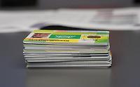 Gross-Gerau 27.12.2020: Erste Corona Impfung im Kreis Groß-Gerau<br /> Gesundheitskarten liegen zur Corona Impfung bereit