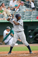Tim Beckham #22 of the Charlotte Stone Crabs at bat against the Jupiter Hammerheads at Roger Dean Stadium June 15, 2010, in Jupiter, Florida.  Photo by Brian Westerholt /  Seam Images