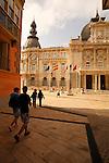 Fachada principal del Ayuntamiento de Cartagena.