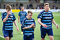 Forfar's Craig Smith, Kerr Hay and Darren Dods at the end of the game.