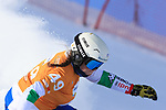 FIS Snowboard World Cup - Covid-19 Outbreak  Parallel Slalom event on 17/12/2020 in Carezza, Italy. In action Jasmin Coratti