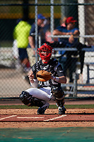Daniel Stewart during the Under Armour All-America Tournament powered by Baseball Factory on January 18, 2020 at Sloan Park in Mesa, Arizona.  (Zachary Lucy/Four Seam Images)