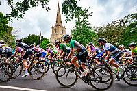 Picture by Alex Whitehead/SWpix.com - 14/06/2018 - Cycling - 2018 OVO Energy Women's Tour - Stage 2, Rushden to Daventry. Elisa Longo Borghini.