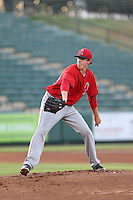 Nathaniel Bertness (54) of the AZL Angels pitches during a game against the AZL Giants at Tempe Diablo Stadium on July 6, 2015 in Tempe, Arizona. Angels defeated the Giants, 3-1. (Larry Goren/Four Seam Images)