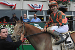 June 27 2015: Include Betty with Drayden Van Dyke win the$300,000 Grade I Mother Goose Stakes for 3-year old fillies, going 1 1/16 miile  at Belmont Park.  Trainer Thomas Proctor. Owner Brereton Jones & Timothy Thornton.Sophie Shore/ESW/CSM