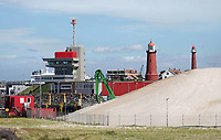 Nederland  IJmuiden aan Zee - 2019.  Gebiedsontwikkeling aan zee. Bouw van een nieuwe kustplaats rondom de Marina Seaport.    Foto Berlinda van Dam / Hollandse Hoogte