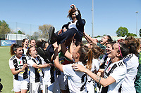 Rita Guarino.  Celebration at the end of the match <br /> Verona 20-4-2019 Stadio AGSM Olivieri <br /> Football Women Serie A Hellas Verona - Juventus <br /> Juventus win italian championship <br /> Photo Daniele Buffa / Image Sport / Insidefoto
