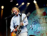 Oslo, 20050813. ??yafestivalen 2005. DeLillos, Lars Lillo-Stenberg.....Foto: Eirik Helland Urke / Dagbladet..
