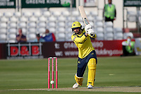 James Vince in batting action for Hampshire during Essex Eagles vs Hampshire Hawks, Vitality Blast T20 Cricket at The Cloudfm County Ground on 11th June 2021