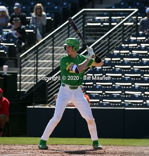 Jack Scanlon - 2020 Oregon Ducks (Bill Mitchell)