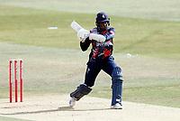 Daniel Bell-Drummond bats for Kent during Kent Spitfires vs Sussex Sharks, Vitality Blast T20 Cricket at The Spitfire Ground on 12th September 2020