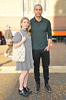 """guest and  John Macmillan at the """"Loki"""" TV preview screening, Tate Modern, Millbank, London on Tuesday 08 June 2021 in London, England, UK. <br /> CAP/CAN<br /> ©CAN/Capital Pictures"""