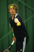 10-3-06, Netherlands, tennis, Rotterdam, National indoor junior tennis championchips, Kevin Schimmel