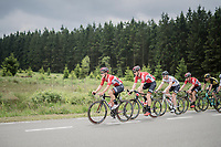 Team Lotto-Soudal pacing the peloton<br /> <br /> Ster ZLM Tour (2.1)<br /> Stage 4: Hotel Verviers > La Gileppe (Jalhay)(190km)