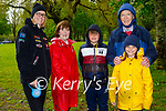 Enjoying a stroll in the Muckross Gardens in Killarney on Sunday, l to r: Linda, Mark and Elisa Mosca, Mary and Carlie O'Leary.