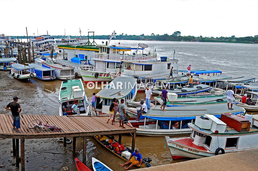 Rio Amazonase area portuaria de Santana. Amapa. 2012. Foto de Reinaldo Minillo.