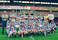 VOETBAL: HEERENVEEN: SC Heerenveen 1993, Jeugdteam  voetbalschool, ©foto Martin de Jong