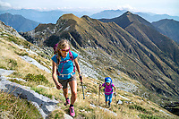 Hiking the Via Alta Val Maggia, a week long, difficult trek connecting Locarno and Broglio that stays high on a remote and wild ridgeline. Switzerland