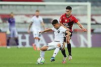 9th September 2020; Arena da Baixada, Curitiba, Brazil; Brazilian Serie A, Athletico Paranaense versus Botafogo; Léo Cittadini of Athletico Paranaense and Kevin of Botafogo
