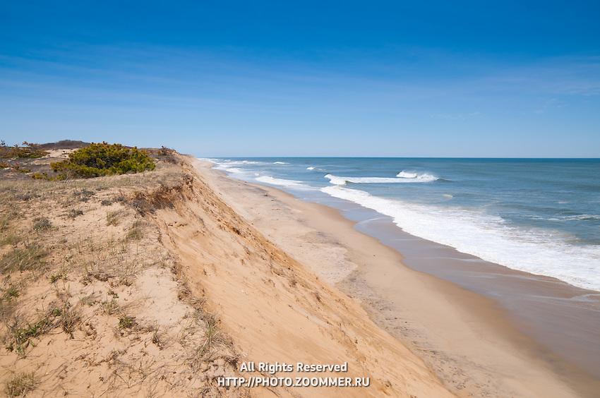 Drifting dunes of Marconi Beach, Cape Cod