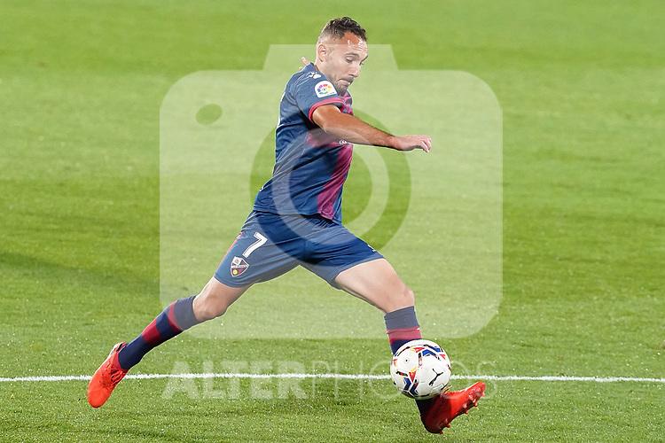 SD Huesca's David Ferreiro during La Liga match. September 30,2020. (ALTERPHOTOS/Acero)