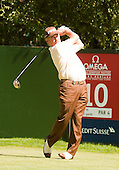 During the final day's play at the 201 Omega European Masters: Picture - Stuart Adams, SAFOTO.