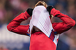 Antoine Griezmann of Atletico de Madrid reacts as he fails to score during the La Liga match between Atletico de Madrid and RCD Espanyol at the Vicente Calderón Stadium on 03 November 2016 in Madrid, Spain. Photo by Diego Gonzalez Souto / Power Sport Images