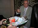 Armenia 2007 <br /> A Yezidi wedding in a village: A guest giving money to the newly weds <br /> Armenie 2007 <br /> Un mariage yezidi dans un village: un invité donnant de l'argent pour les nouveaux mariés