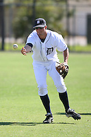 March 21st 2008:  Cale Iorg of the Detroit Tigers minor league system during Spring Training at Tiger Town in Lakeland, FL.  Photo by:  Mike Janes/Four Seam Images