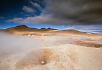 Sol de Manana geothermal basin, Bolivia