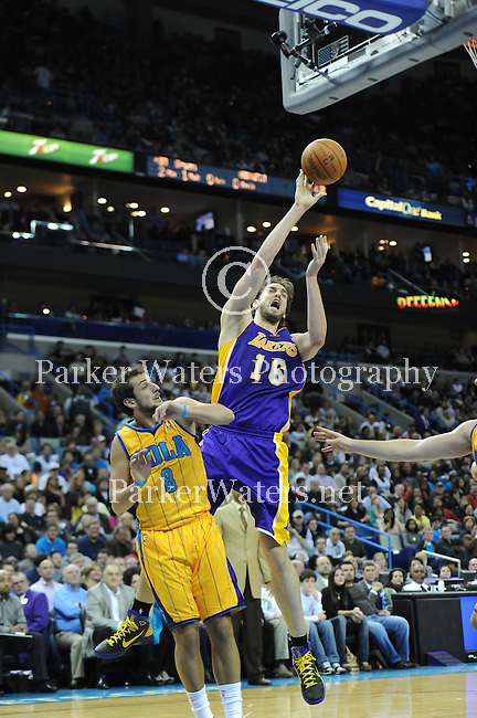 The New Orleans Hornets fall to the Los Angeles Lakers, 101-95, in the New Orleans Arena.  These selected images are not available for sale or redistribution and are here solely as a representation of my photography.
