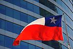 Bandera de Chile.<br /> <br /> Edición de 5 | Víctor Santamaría.