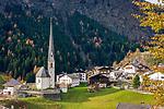 Italien, Suedtirol, Moos in Passeier: Gemeinde im Hinterpasseier, inmitten des Naturparks Texelgruppe gelegen | Italy, South Tyrol (Alto Adige-Trentino), Moso in Passiria: a comune in the Passeier Valley