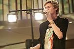 Cody Simpson, Oct 22, 2011: 14 year old Australian singer Cody Simpson held a mini live showcase at Koshigaya Laketown, Saitama, Japan.  It is his first visit to Japan. (Photo by Kenya Chiba/AFLO) [1125]