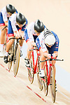 Women's Team Pursuit - 1st Round as part of the 2017 UCI Track Cycling World Championships on 13 April 2017, in Hong Kong Velodrome, Hong Kong, China. Photo by Marcio Rodrigo Machado / Power Sport Images