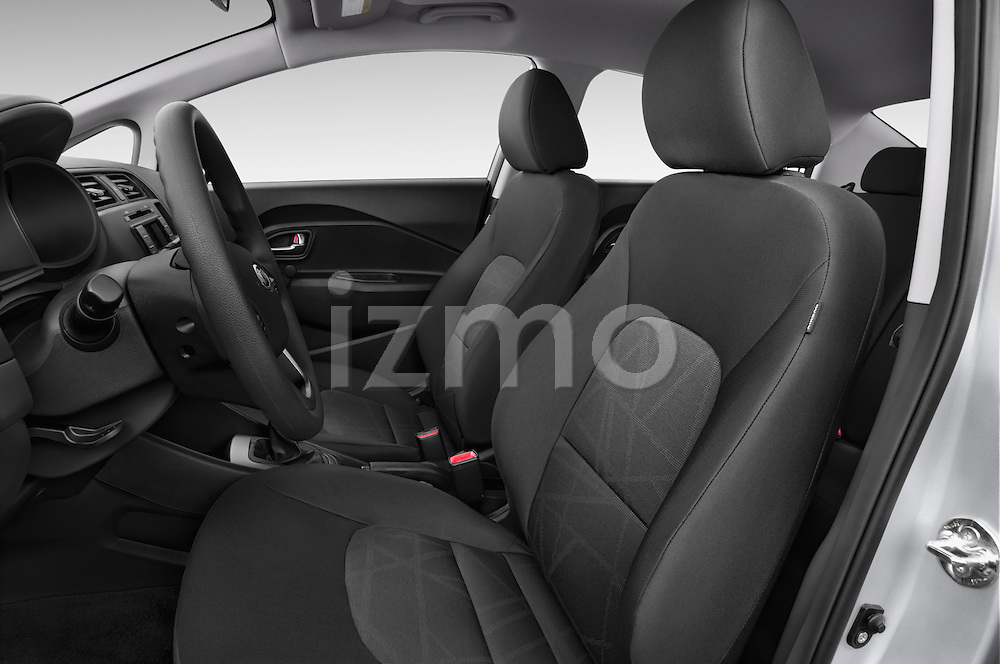 Front seat view of a 2015 KIA Rio LX AT 4 Door Sedan 2WD Front Seat car photos