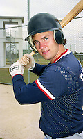 Boston Red Sox Jimmy Crowley during Spring Training 1993.  (MJA/Four Seam Images)