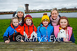 Enjoying a picnic at the Tralee Bay Wetlands on Saturday. Seated l to r: Milly, Kenny Costello, Emma and Ciara Hayles. Back l to r: Pamela Costello and Karen Hayles.