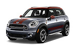 2016 MINI Countryman Cooper S Park Lane 5 Door Hatchback Angular Front stock photos of front three quarter view