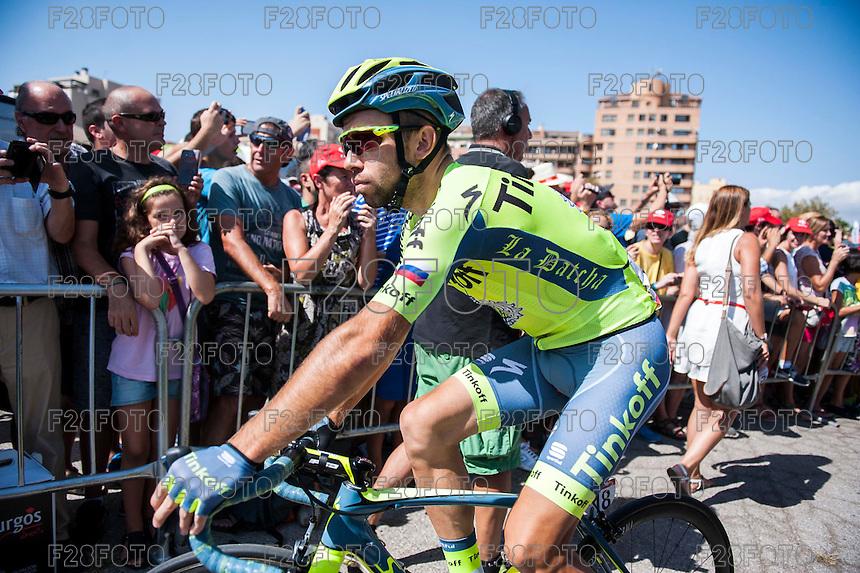 Castellon, SPAIN - SEPTEMBER 7: Ivan Rovny during LA Vuelta 2016 on September 7, 2016 in Castellon, Spain