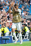 Real Madrid Mariano Diaz during UEFA Champions League match between Real Madrid and A.S.Roma at Santiago Bernabeu Stadium in Madrid, Spain. September 19, 2018. (ALTERPHOTOS/Borja B.Hojas)