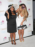 """Nicole Polizzi aka Snooki and Aubrey O'Day at  """"Hampton Chic"""" themed party to launch the exciting new addition to legendary skincare line Frownies, """"Beautiful Eyes,"""" in Marina Del Rey, California on September 27,2010                                                                               © 2010 DVS / Hollywood Press Agency"""