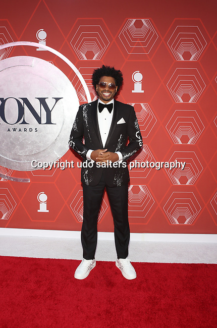 Chester Gregory attends the 74th Tony Awards-Broadway's Back! arrivals at the Winter Garden Theatre in New York, NY, on September 26, 2021. (Photo by Udo Salters/Sipa USA)