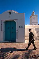 Fremdenmoschee in Houmt Souk, Djerba, Tunesien