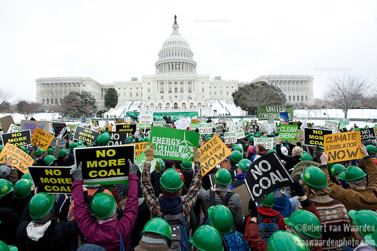 Power Shift Rally on Capitol Hill in Washington, D.C. - ©Robert vanWaarden ALL RIGHTS RESERVED
