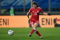Sofie Junge Pedersen of Denmark in action during the Women s EURO 2022 qualifying football match between Italy and Denmark at stadio Carlo Castellani in Empoli (Italy), October, 27th, 2020. Photo Andrea Staccioli / Insidefoto
