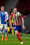 Juan Francisco Torres Belen, Juanfran, of Atletico de Madrid in action during the La Liga 2017-18 match between Atletico de Madrid and CD Leganes at Wanda Metropolitano on February 28 2018 in Madrid, Spain. Photo by Diego Souto / Power Sport Images